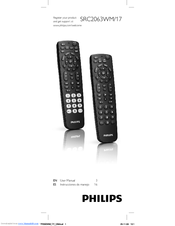 Philips Perfect replacement SRC2063WM/17 User Manual