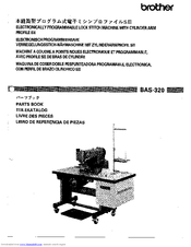Brother BAS-320 Parts Manual