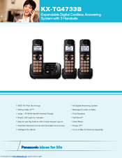 Panasonic KX-TG4733B Specifications