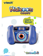 vtech kidizoom camera user manual pdf download rh manualslib com VTech ManualDownload Vtech Kidizoom Digital Camera