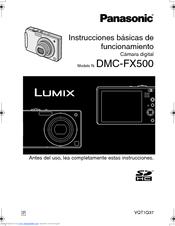 Panasonic dmc-fx500 review.