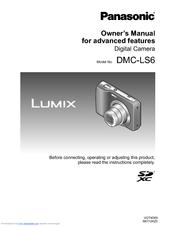 panasonic dmcls6 owner s manual pdf download rh manualslib com
