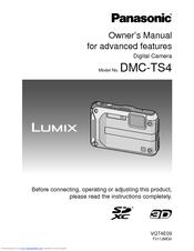 panasonic lumix dmc ts4 owner s manual pdf download rh manualslib com Panasonic Lumix DMC Panasonic Lumix Battery Charger