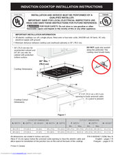 Electrolux EW36IC60LS Installation Instructions Manual