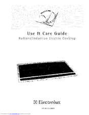 Electrolux EW30CC55GS3 Use And Care Manual
