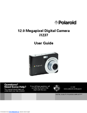 polaroid i1237 manuals rh manualslib com Instruction Manual User Manual PDF