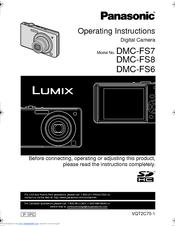 panasonic lumix dmc fs7 manuals rh manualslib com 24X Panasonic Lumix DMC Panasonic Lumix GH3