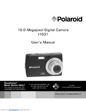 polaroid t1031 digital camera compact manuals rh manualslib com
