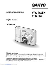 sanyo xacti vpc s60ex manuals rh manualslib com Apple iPhone User Guide User Guide Template