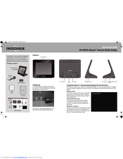 Insignia Infocast NS-DP8CH Quick Setup Manual