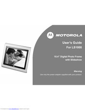 Motorola LS1000 User Manual