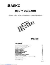 asko d3250 manuals rh manualslib com asko d3250 parts manual