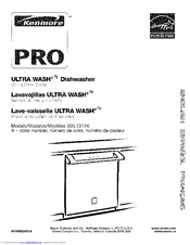 Kenmore 1317 - Pro 24 in. Dishwasher Use And Care Manual