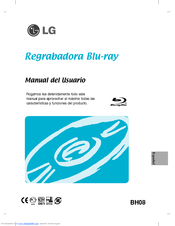LG BH08LS20 -  Super Multi Manual Del Usuario