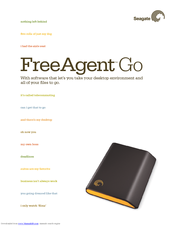 seagate freeagent go manuals rh manualslib com TomTom Go Manual seagate freeagent go user manual