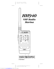 Uniden HH940 Manual De Usuario
