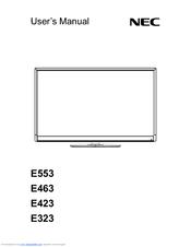 nec e423 manuals rh manualslib com Online User Guide Example User Guide