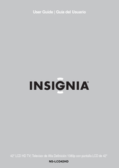 insignia ns lcd42hd 42 lcd tv manuals rh manualslib com Insignia Products Support Insignia Electronics Products
