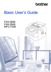 Brother FAX-2940 Basic User's Manual