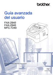 Brother FAX-2940 Manual
