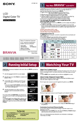 sony bravia setup instructions