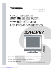 Lcd Tv Circuit Diagram | Toshiba 23hlv87 23 Lcd Tv Circuit Diagrams Pdf Download