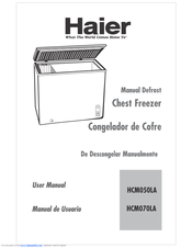 Haier HCM070LA User Manual