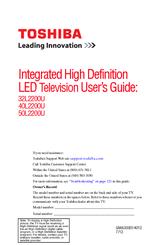 toshiba 40l2200u manuals rh manualslib com toshiba led tv manual tuning toshiba led tv service manual pdf