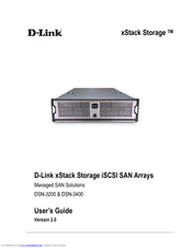 D-Link DSN-3200 - xStack Storage Area Network Array Hard Drive User Manual
