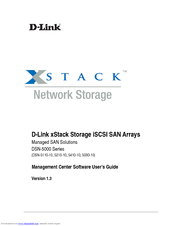 D-Link xStack Storage DSN-5000-10 Software Manual