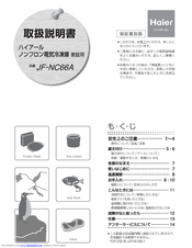 Haier JF-NC66A User Manual