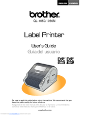Brother andtrade; QL-1060N User Manual