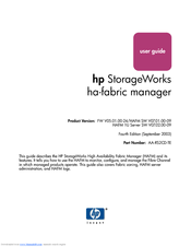HP 316095-B21 - StorageWorks Edge Switch 2/24 User Manual