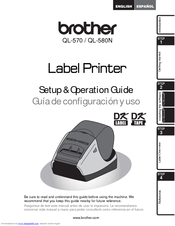 brother p touch label maker instruction manual