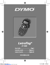Dymo LetraTag LTH User Manual (19 pages)