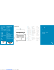 Dell Inspiron 15Z 5523 Quick Start Manual