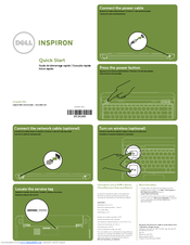 Dell Inspiron 13z Quick Start Manual