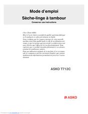 asko t712c manuals rh manualslib com Asko Dryer Parts List Asko Washer and Dryer
