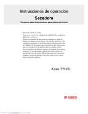 asko t712c manuals rh manualslib com Asko Dryer T731 Door Gasket Asko Dryer Door Seal