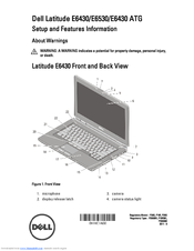 Dell Latitude E6430s Инструкция img-1