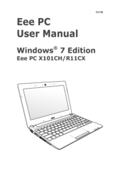 Asus Eee PC R11CX User Manual