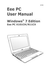 Asus Eee PC R11CX User Manual