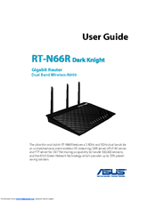Asus RT-N66R Dark Knight User Manual
