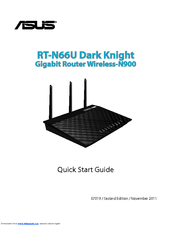 Asus RT-N66U Quick Start Manual