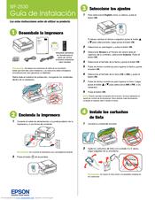 Epson WF-2530 Guía De Instalación