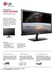LG IPS235T-BN Specifications