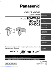 Panasonic HX-DC2 Owner's Manual