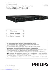 philips dvp3560 f7 user manual pdf download rh manualslib com Philips DVP642 DVD Player Philips DVD Players DVP5982