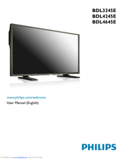 Philips BDL3245E/27 User Manual