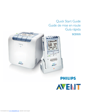 Philips AVENT DECT SCD535/00 Quick Start Manual
